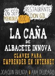 Cartel de la 12ª Caña de Albacete Innova