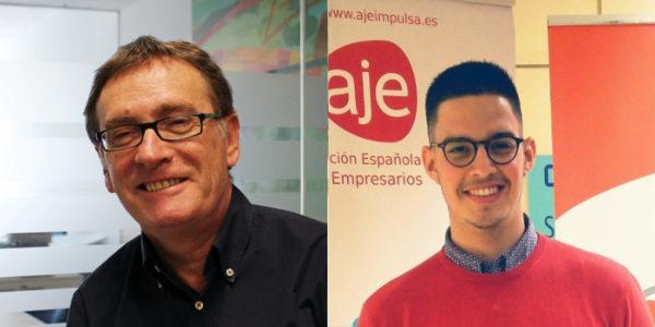 Jesus Andicoberry y Pedro Gómez