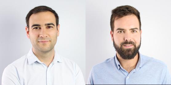 Ismael Ramírez y Manuel Lucena de Proteinsecta